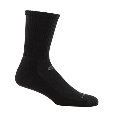 Darn Tough 33001 Micro-Crew Light Cushion Plus Boot Socks - Black