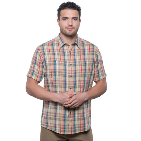 Kuhl Men's Skorpio Short Sleeve Shirt - Sun Fuzion