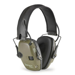 Howard Leight Impact Sport Shooter's Electronic Folding Earmuff - Green