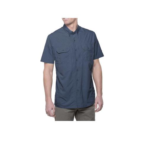 Kuhl Men's Thrive Short-Sleeve Shirt - Pirate Blue