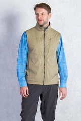 ExOfficio Men's FlyQ Vest- Walnut