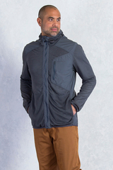 ExOfficio Men's Bugsaway Sandfly Jacket- DK Pebble