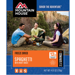 Mountain House Spaghetti with Meat Sauce Entree