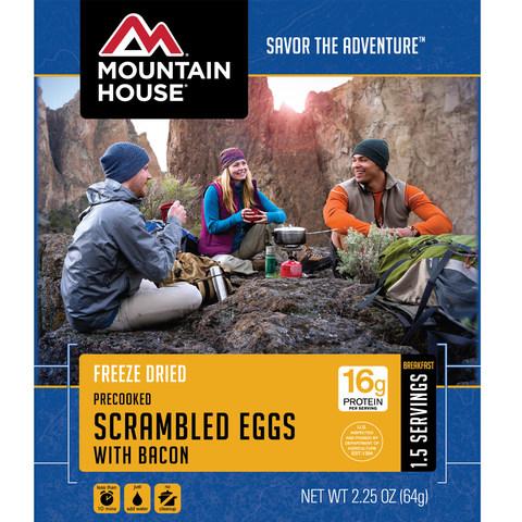 Mountain House Scrambled Eggs w/Bacon Breakfast
