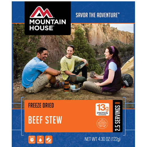 Mountain House Beef Stew Entree