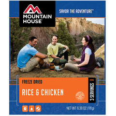 Mountain House Rice & Chicken Entree