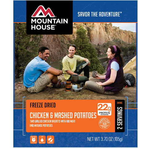 Mountain House Chicken Breasts and Mashed Potatoes Entree