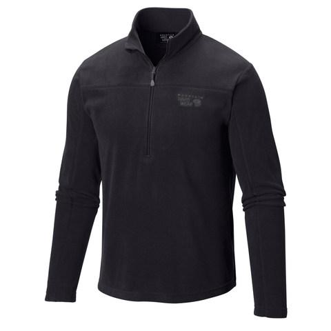 Mountain Hardwear MicroChill Lite Zip T - Black