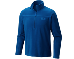 Mountain Hardwear MicroChill Lite Zip T - Nightfall  Blue
