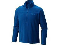 Mountain Hardwear MicroChill Lite Zip T - Nightfall  Blue
