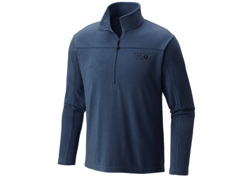 Mountain Hardwear MicroChill Lite Zip T -  Manta Gray