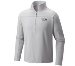 Mountain Hardwear MicroChill Lite Zip T - Gray Ice