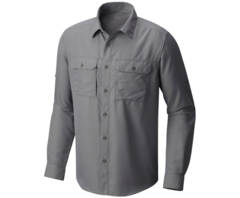 Mountain Hardwear Men's Canyon Long Sleeve Shirt - Manta Grey