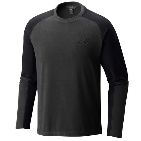 Mountain Hardwear Microchill™ Lite Long Sleeve Crew Shirt - Shark