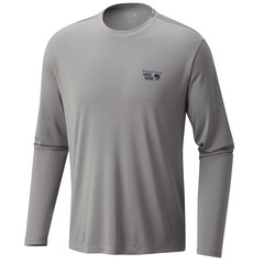 Mountain Hardwear Wicked Long Sleeve Shirt - Manta Grey