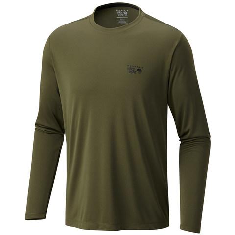 Mountain Hardwear Wicked Long Sleeve Shirt - Surplus Green