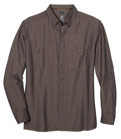 Kuhl Men's Reklaimr LS Shirt - Walnut