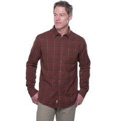Kuhl Men's The Independent LS Shirt-Mahogany