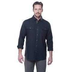 Kuhl Men's Descendr LS Shirt-Mutiny Blue