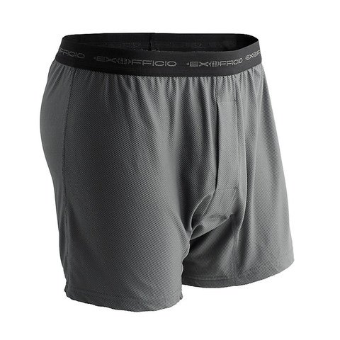 ExOfficio Men's Give-N-Go Classic Boxers - Charcoal
