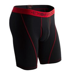 ExOfficio Men's Give-N-Go Sport Mesh 9 Boxer Brief - Black