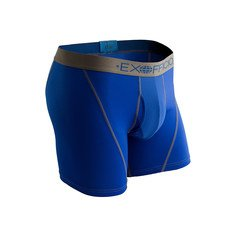 ExOfficio Men's Give-N-Go Sport Mesh 6 Boxer Brief - Royal