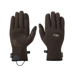 OR Men's Furry Sensor Gloves - Earth