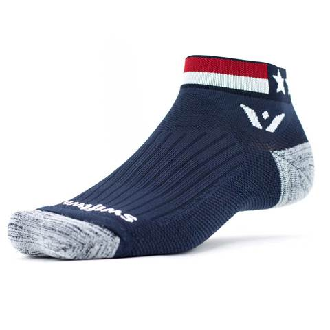 Swiftwick Vision ONE  Ankle Socks- Spirit American