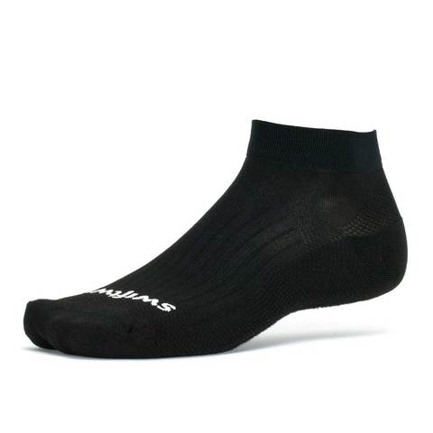 Swiftwick Aspire ONE  Military Ankle Socks - Black