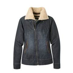 Mountain Khaki Women's Ranch Shearling Jacket - Dark Denim