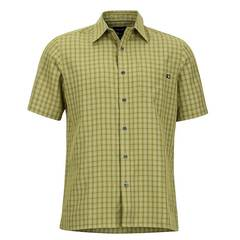 Marmot Men's Eldridge SS Shirt -Wheatgrass
