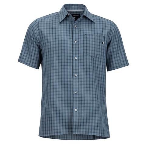 Marmot Men's Eldridge SS Shirt -Steel Onyx