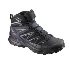 Salomon Men's X Ultra Mid 3 GTX Boots - Black/India Ink