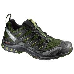 Salomon Men's XA Pro 3D Trail Shoes - Chive/Black/Beluga