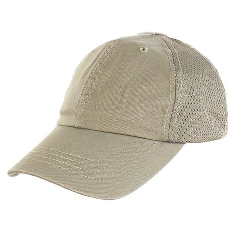 Condor Mesh Tactical Team Cap - Tan