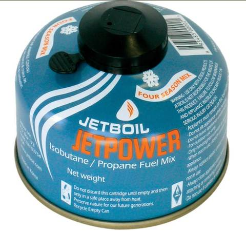 Jetboil Jetpower Fuel Canister