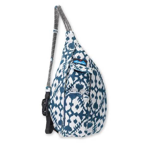 Kavu Mini Rope Bag - Blue Blot