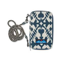 Kavu Go Time Clutch - Wallet - Blue Blot