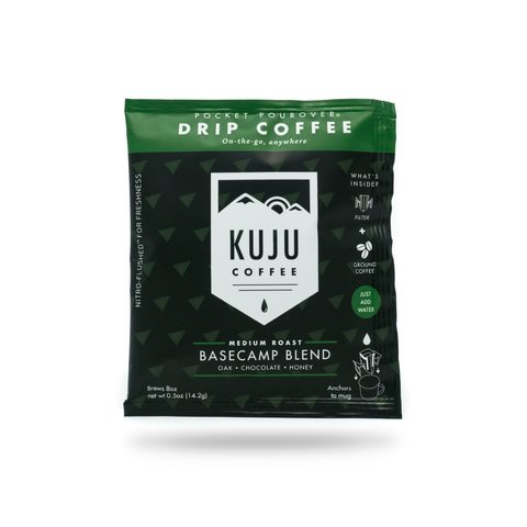 Kuju Coffee Pocket PourOver Single Serving - Basecamp Blend