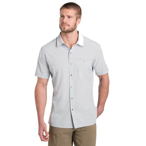 Kuhl Men's Renegade Short Sleeve Shirt - Ash