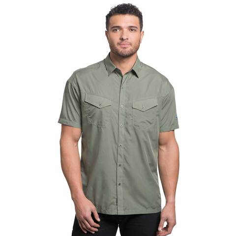 Kuhl Men's Stealth SS Shirt - Fern