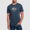 Kuhl Born in the Mountains Klassik Fit Tee - Pirate Blue