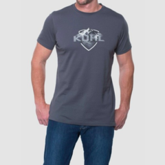 Kuhl Born in the Mountains Klassik Fit Tee - Carbon