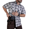 Vertx Short Sleeve Weapon Guard Guardian  Shirt - Steel Plaid