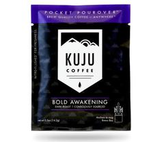 Kuju Coffee Pocket PourOver Single Serving - Dark Roast