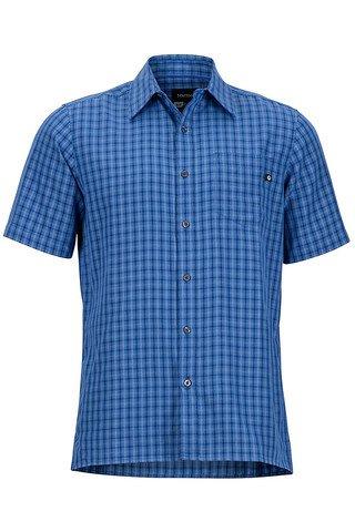 Marmot Men's Eldridge SS Shirt -Varsity Blue