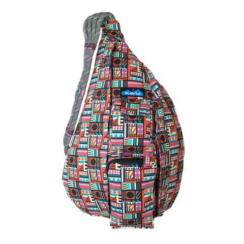 Kavu Rope Bag - Geometry