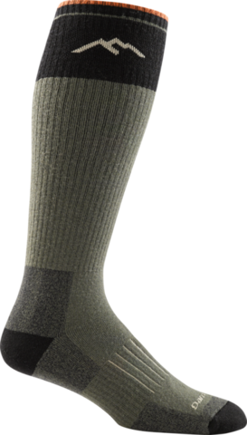 Darn Tough Hunter Over-the-Calf Extra Cushion Socks - Forest