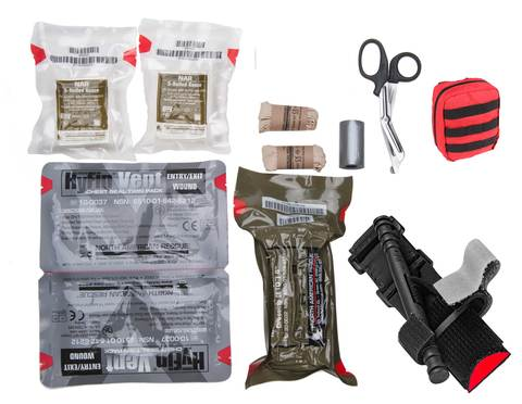 LifeView Tactical Trauma Kit with Tourniquet