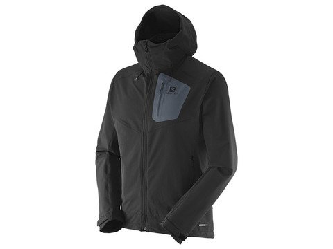 Salomon Ranger Soft Shell Jacket - Black